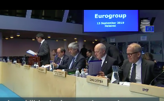 Eurogroup Meeting in Helsinki